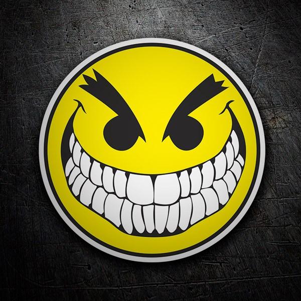 Pegatinas: Bad Smiley