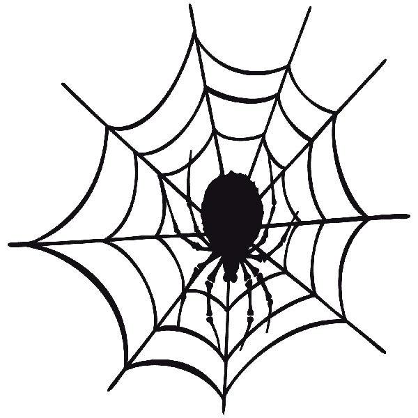 Pegatinas: Tela de araña 3
