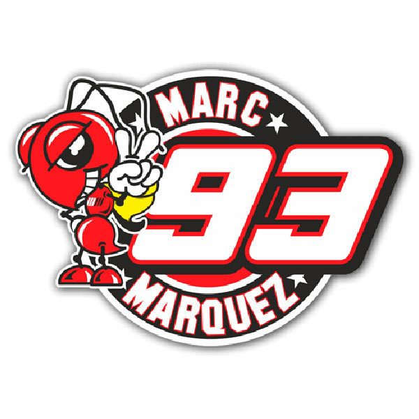 Pegatinas: Marc Marquez 93