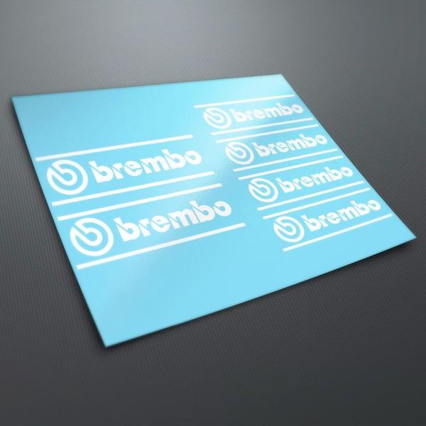 Pegatinas: Kit pegatinas Brembo 1