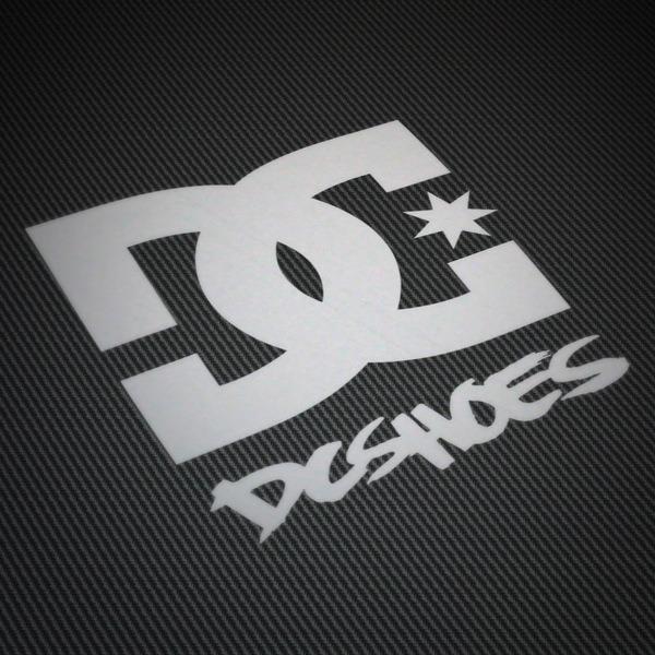 Pegatinas: DC SHOES USA 2