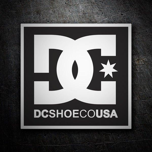 Pegatinas: DC SHOE CO USA