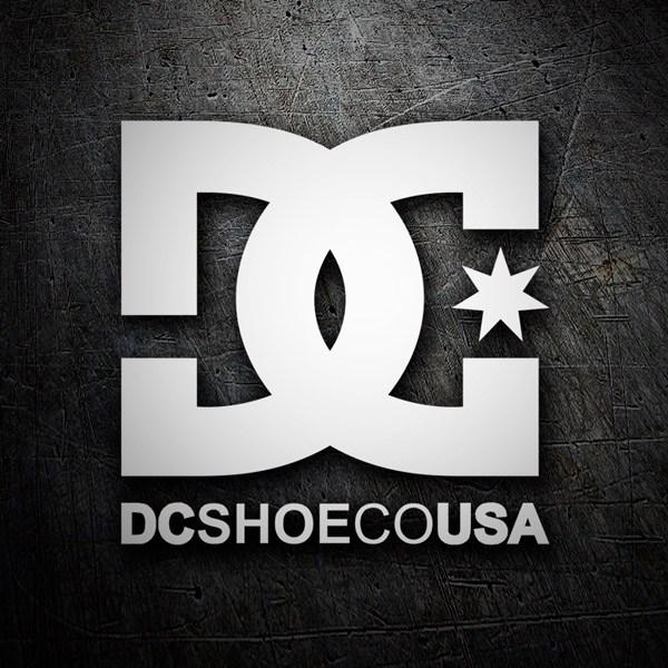 Pegatinas: DC SHOE CO USA 2