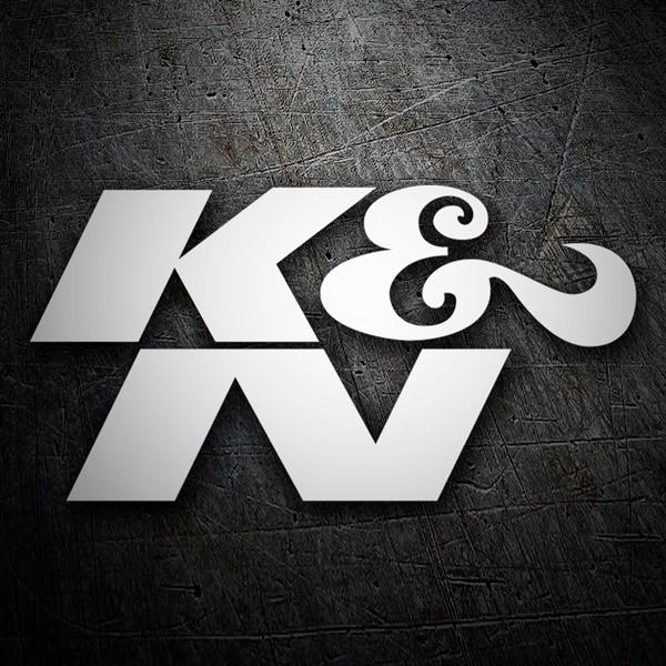 Pegatinas: K&N Logo