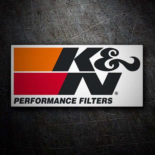 Pegatinas: K&N Peformance Filters