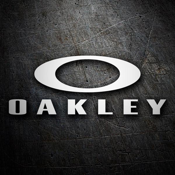Pegatinas: Oakley 4