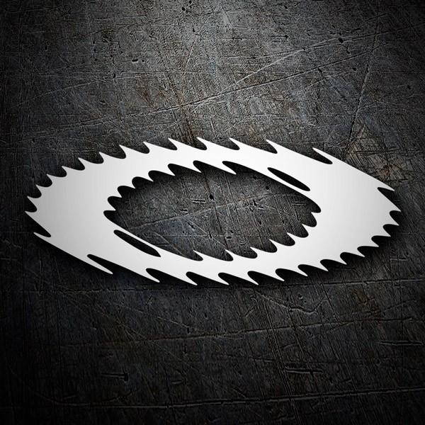 Pegatinas: Oakley logo