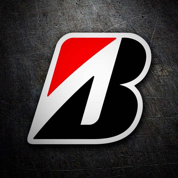 Pegatinas: Bridgestone logo