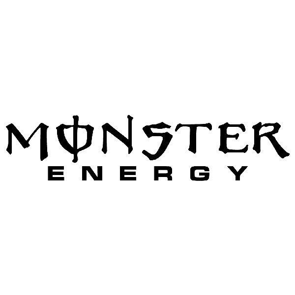 Pegatinas: Monster Energy 1