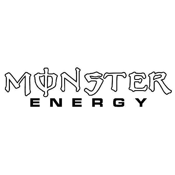 Pegatinas: Monster Energy 2