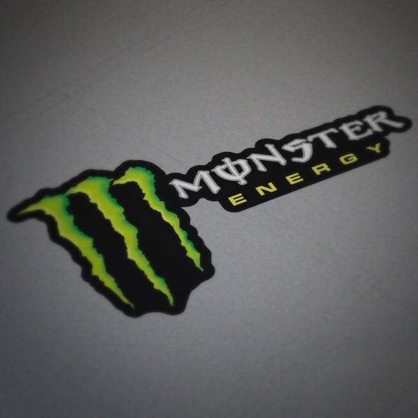 Pegatinas: Monster Energy 4