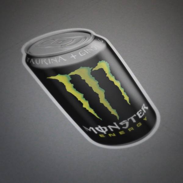 Pegatinas: Monster Energy Lata 2