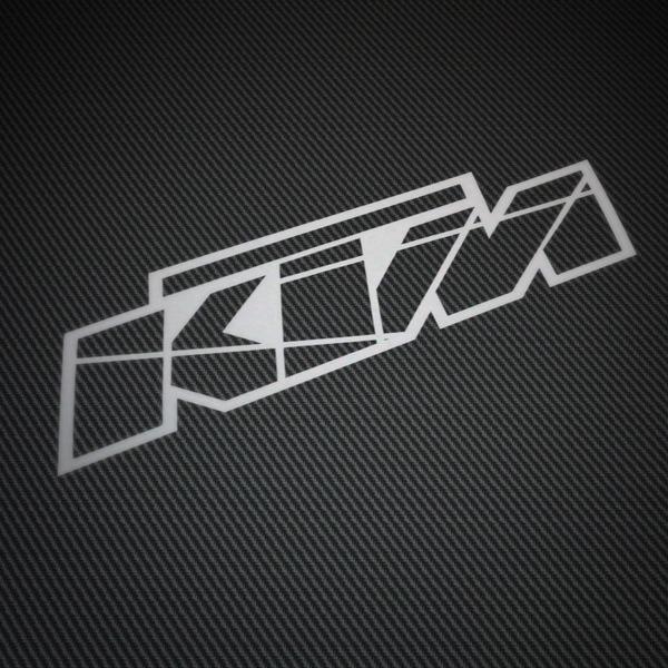 Pegatinas: KTM logo 2