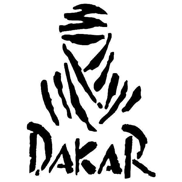 Pegatinas: Logo Rally Dakar