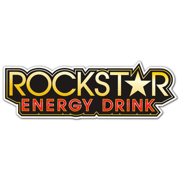 Pegatinas: Rockstar Energy Drink