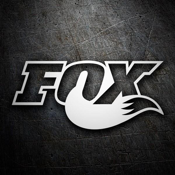 Pegatinas: Fox logo 3