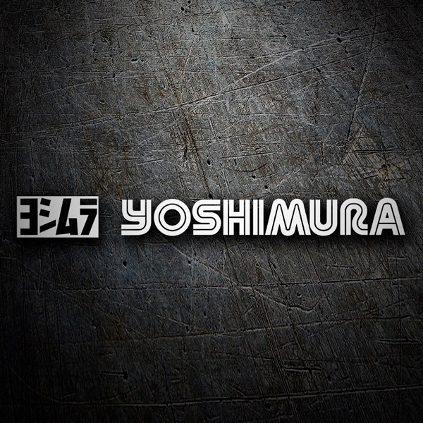 Pegatinas: Yoshimura
