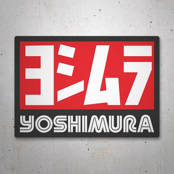 Pegatinas: Yoshimura 6