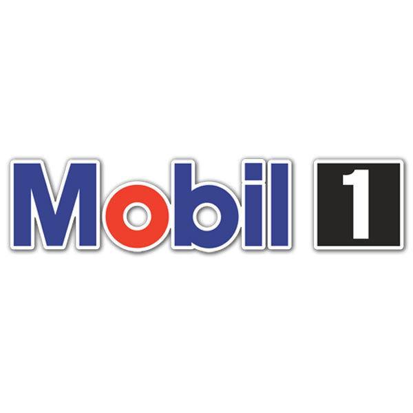 Pegatinas: Mobil 1 -4