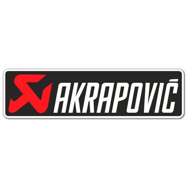 Pegatinas: Akrapovic