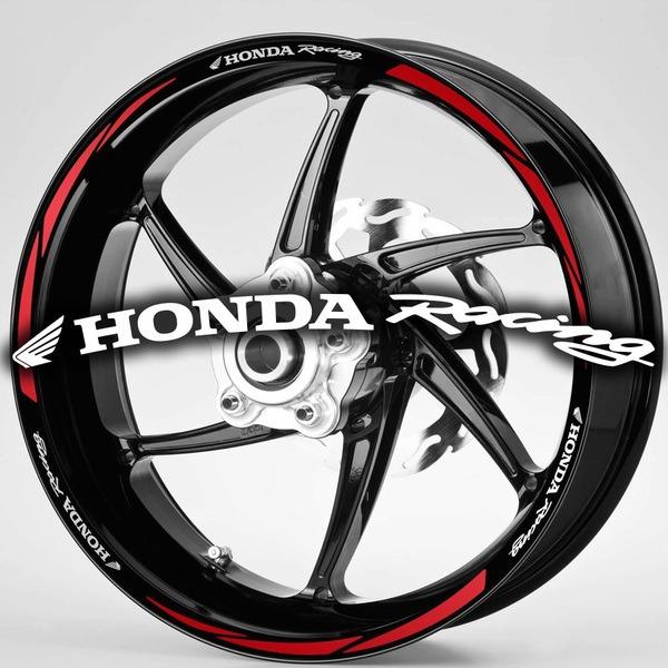 Pegatinas: Bandas llantas MotoGP Honda Rancing