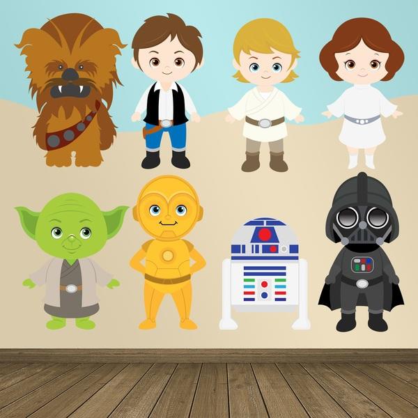 Vinilos Infantiles: La Guerra de las Galaxias