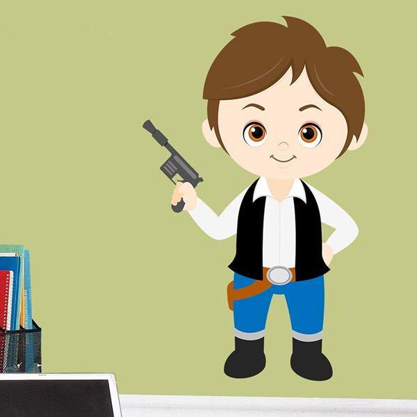 Vinilos Infantiles: Han Solo