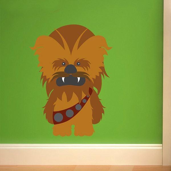 Vinilos Infantiles: Chewbacca