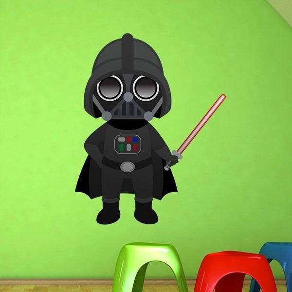 Vinilos Infantiles: Darth Vader
