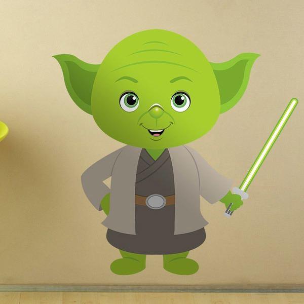 Vinilos Infantiles: Yoda