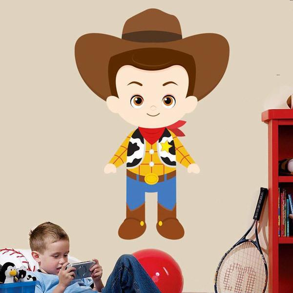 Vinilos Infantiles: El vaquero Woody