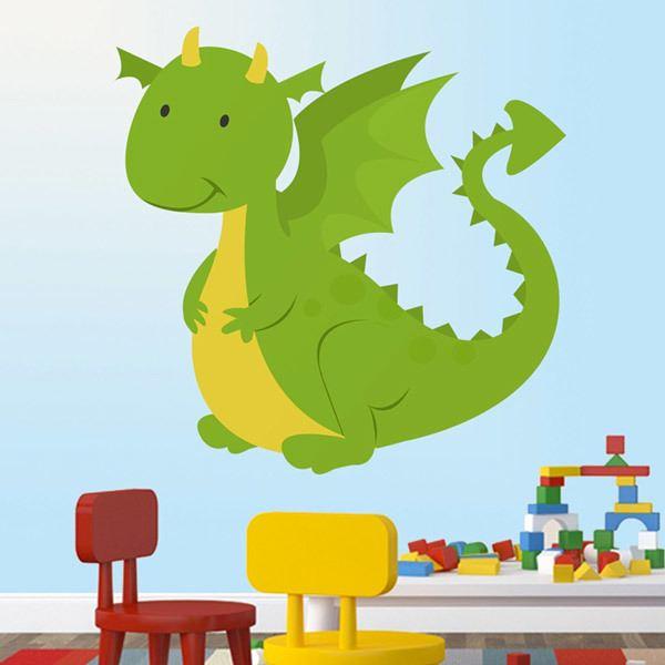 Vinilos Infantiles: Dragón