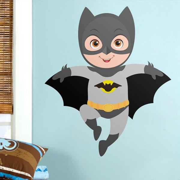 Vinilos Infantiles: Batman volando
