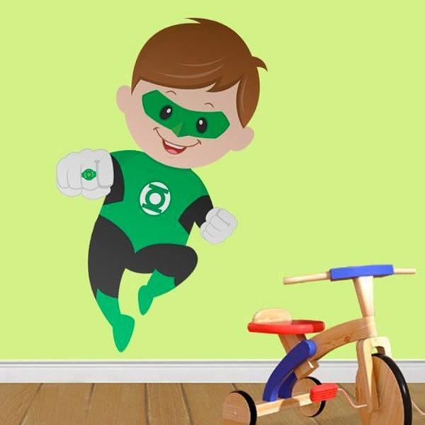 Vinilos Infantiles: Linterna Verde