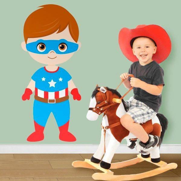 Vinilos Infantiles: Capitán América
