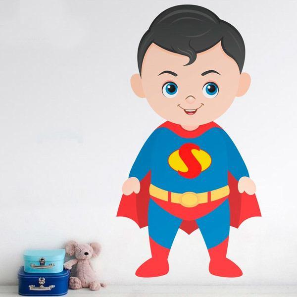 Vinilos Infantiles: Superman