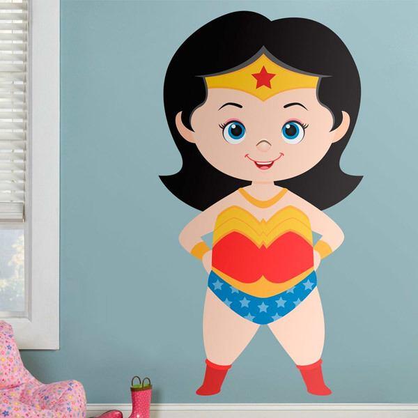 Vinilos Infantiles: Wonderwoman