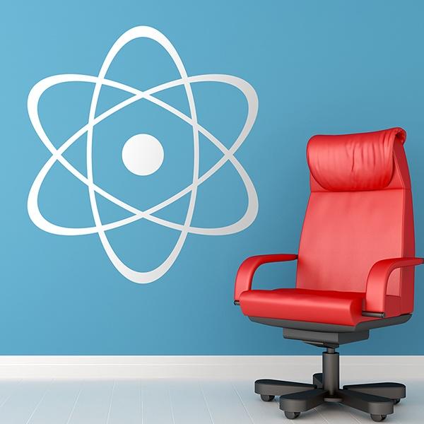 Vinilos Decorativos: Símbolo del átomo