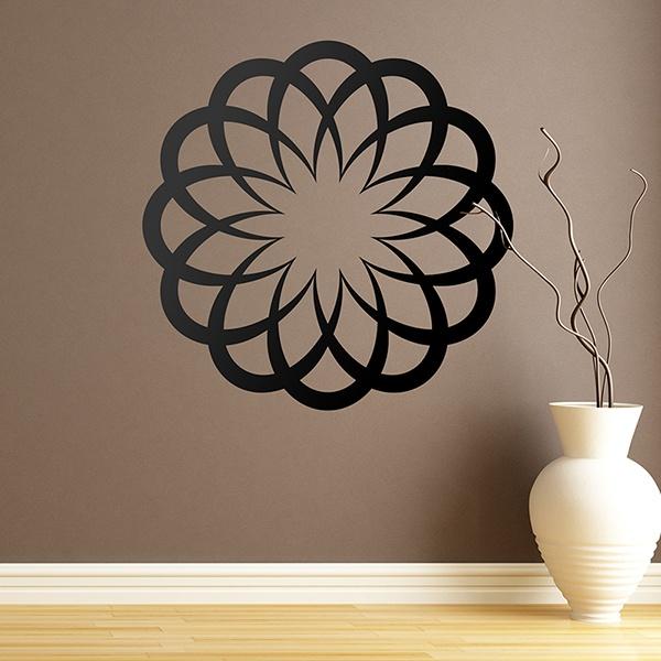 Vinilos Decorativos: Mandala básica