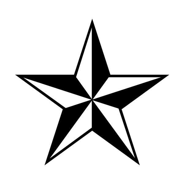 Vinilos Decorativos: Estrella 728
