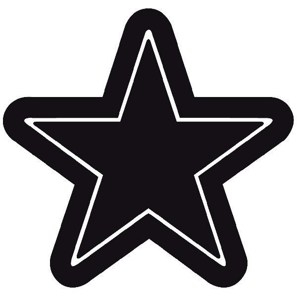Vinilos Decorativos: Estrella 733