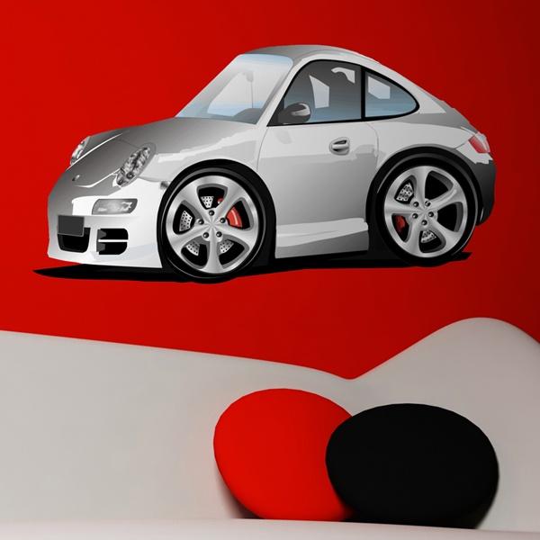 Vinilos Infantiles: Porsche
