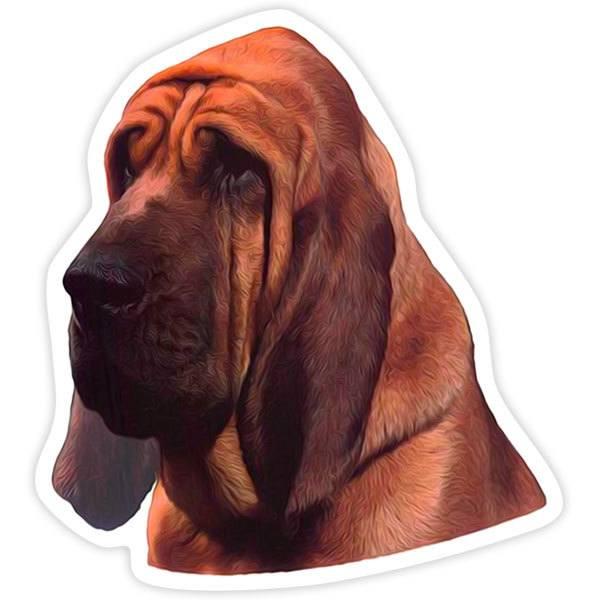 Pegatinas: Bloodhound