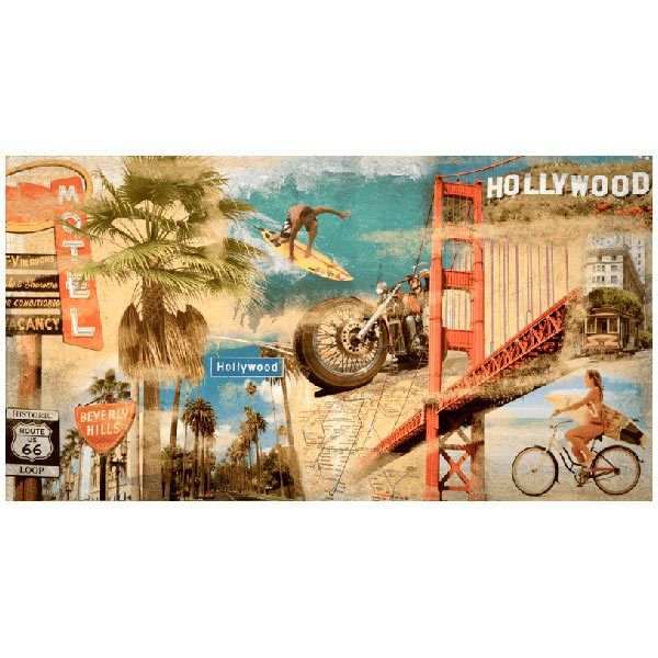 Fotomurales: Collage California