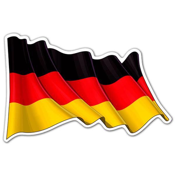Foto de la bandera de alemania