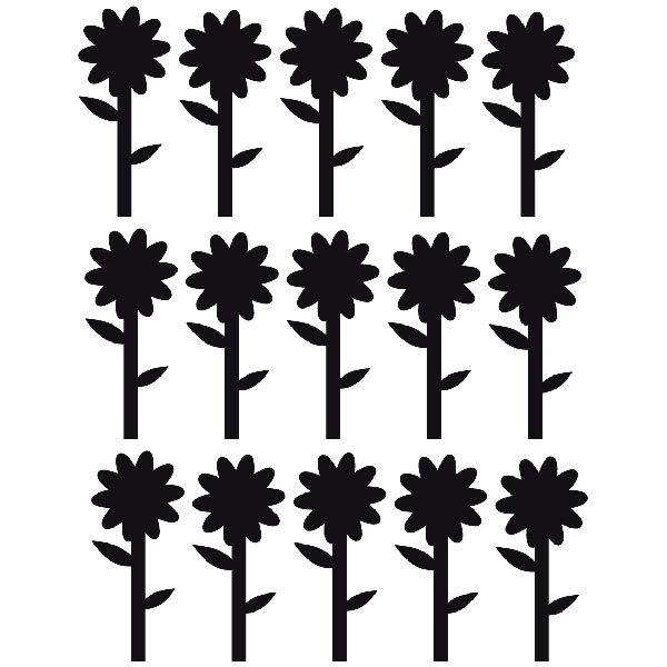 Vinilos Decorativos: Sunflowers