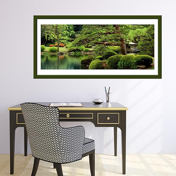 Vinilos Decorativos: Jardín japonés