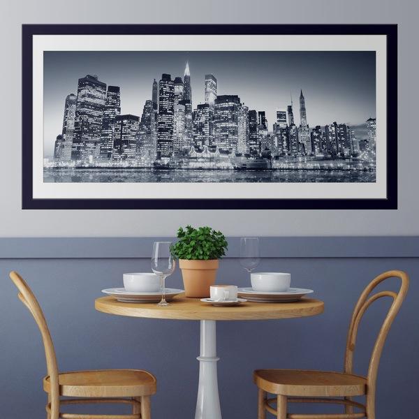 Vinilos Decorativos: Blue Manhattan