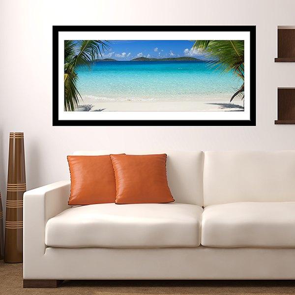 Vinilos Decorativos: Playa Caribeña