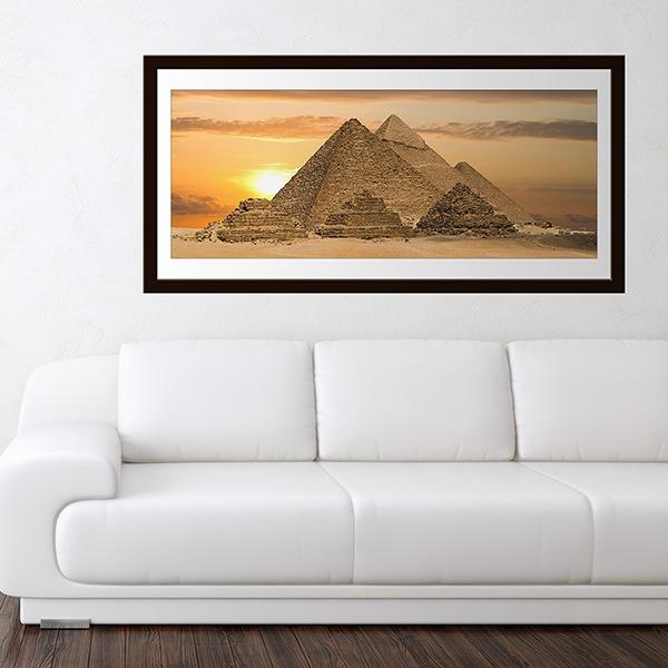 Vinilos Decorativos: Pirámides de Guiza